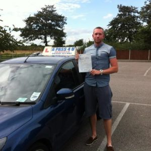 Ben Couchy passes in Southend on Sea
