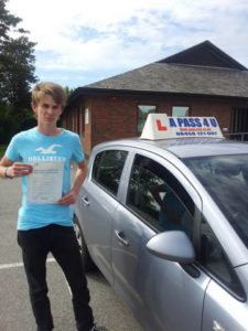 Louis Goodall passes in Portsmouth