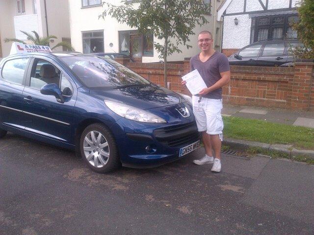 Reece Evans passed in Tilbury
