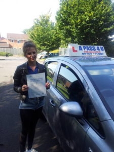 Olivia Ross passes in Southampton
