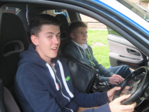 Students Driving