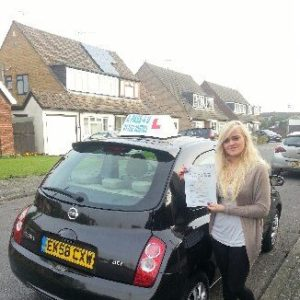 Jodi Sawyer passes in Clacton