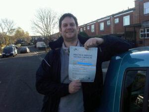 Aaron Stevens passes in Portsmouth