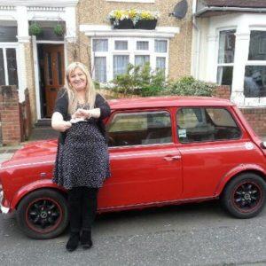 Rosemary Johnston passes her driving test in Portsmouth