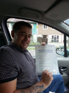 Dan Kidby passes in Portsmouth
