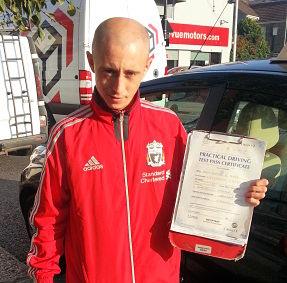 Dennis Geach passes in Clacton