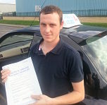 George Clarke passes his driving test in Basildon