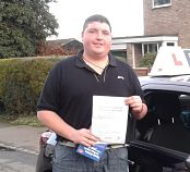 Jonno passes his driving test in Oxford