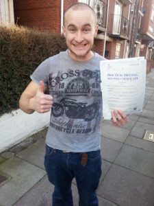 Alistair Butcher passes 1st time