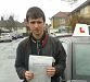 Roger Rama passes his driving test