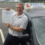 David Still passes driving test in Gillingham